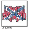"""Lynyrd Skynyrd - """"Logo"""" Fridge Magnet"""