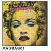 "Madonna - ""Celebration"" Fridge Magnet"