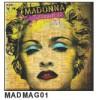 """Madonna - """"Celebration"""" Fridge Magnet"""