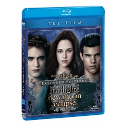 Trilogia The Twilight Saga BRD Extended Editions (Twilight - New Moon & Eclipse)